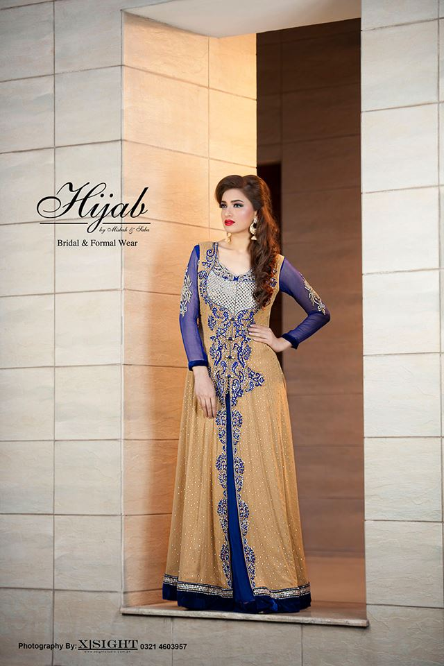 Indian Party Wear Frocks & dresses 2015-2016 (12)