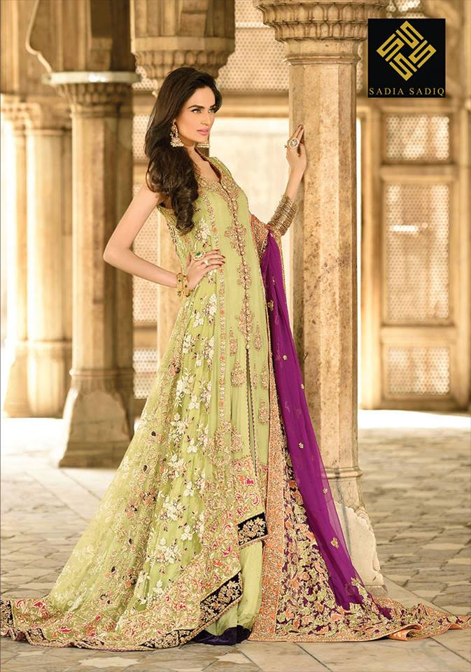 Indian Party Wear Frocks & dresses 2015-2016 (2)