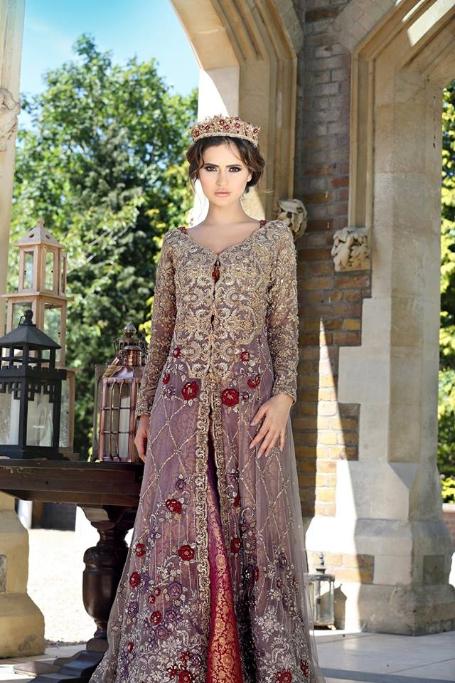 Indian Party Wear Frocks & dresses 2015-2016 (4)