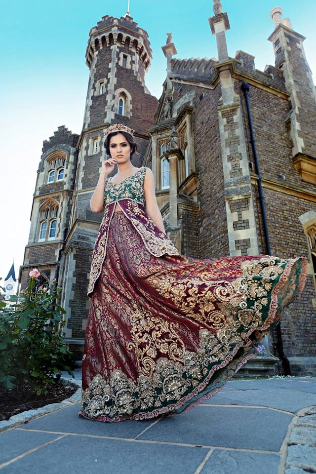Indian Party Wear Frocks & dresses 2015-2016 (5)