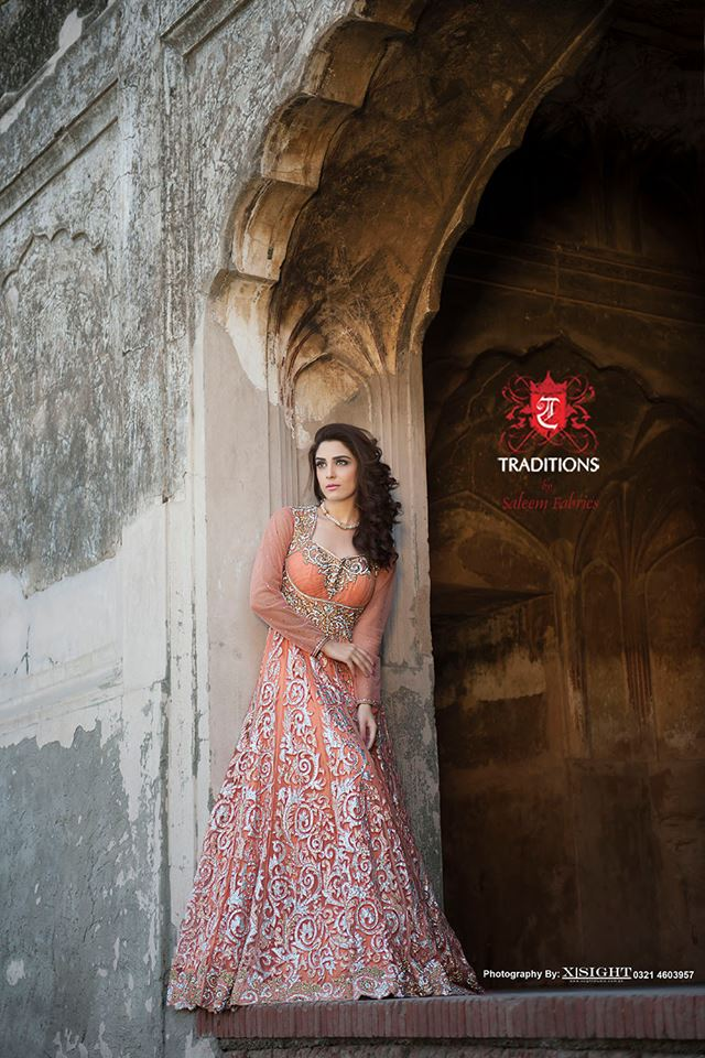 Indian Party Wear Frocks & dresses 2015-2016 (9)