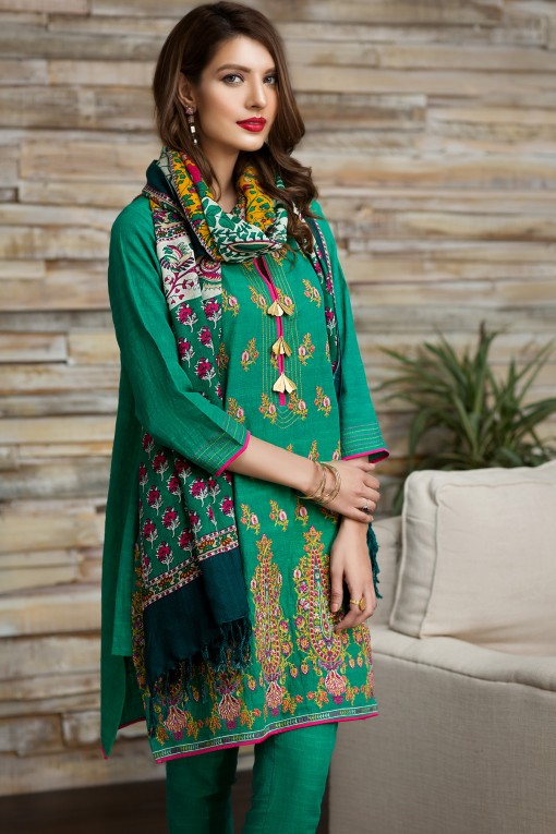 Khaadi Winter Dresses Latest Collection 2017 2018 Stylish Warm Suits