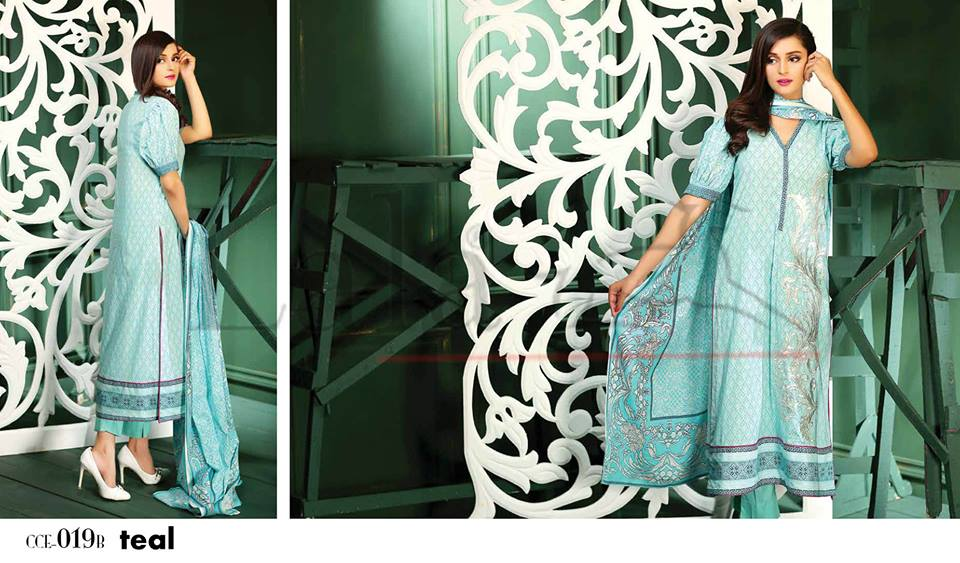 Lala Winter Embroidered Cotton-Linen Dresses 2015-2016 (1)