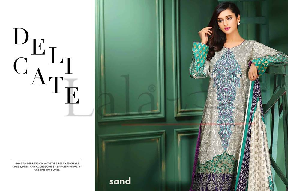 Lala Winter Embroidered Cotton-Linen Dresses 2015-2016 (10)