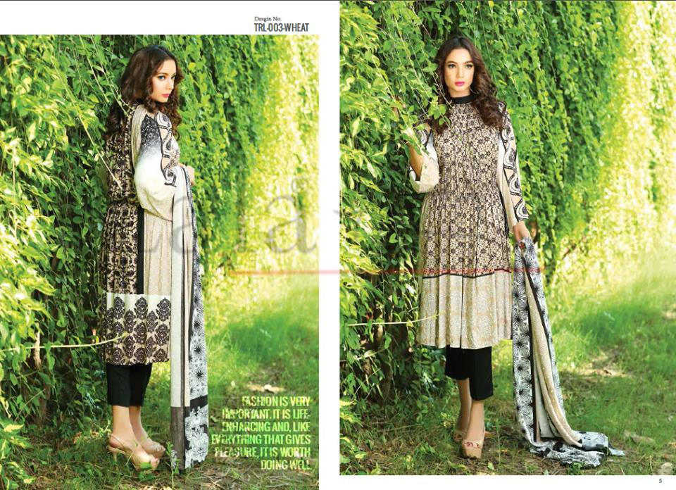 Lala Winter Embroidered Cotton-Linen Dresses 2015-2016 (12)