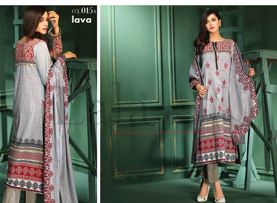 Lala Winter Embroidered Cotton-Linen Dresses 2015-2016 (15)
