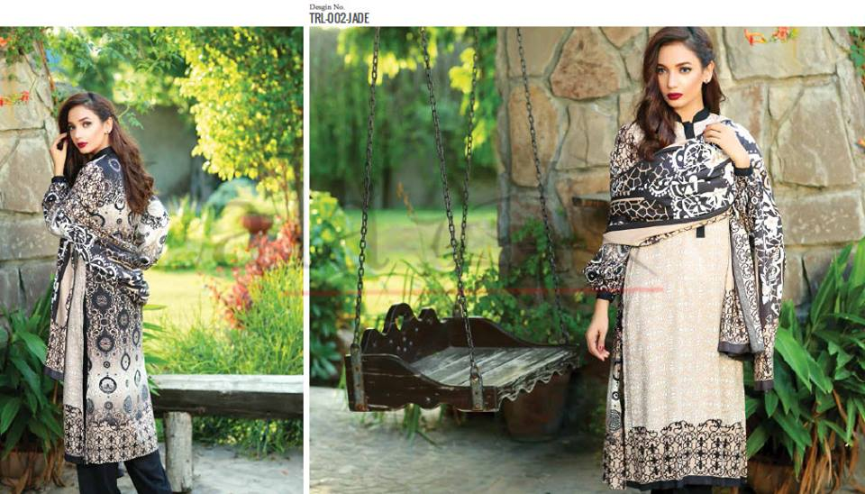 Lala Winter Embroidered Cotton-Linen Dresses 2015-2016 (17)