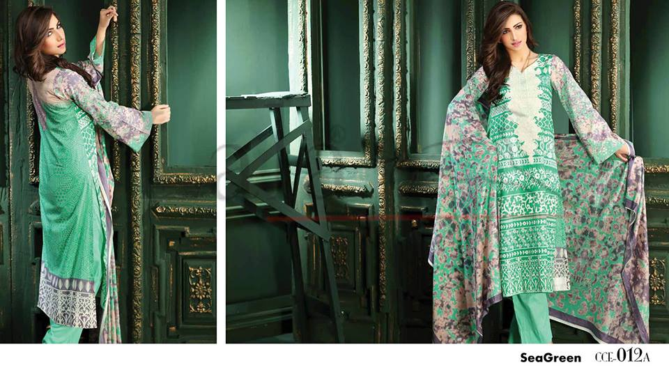 Lala Winter Embroidered Cotton-Linen Dresses 2015-2016 (2)
