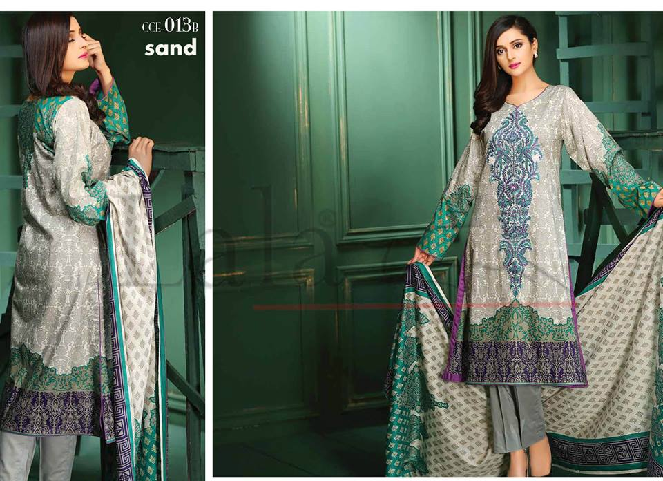 Lala Winter Embroidered Cotton-Linen Dresses 2015-2016 (20)