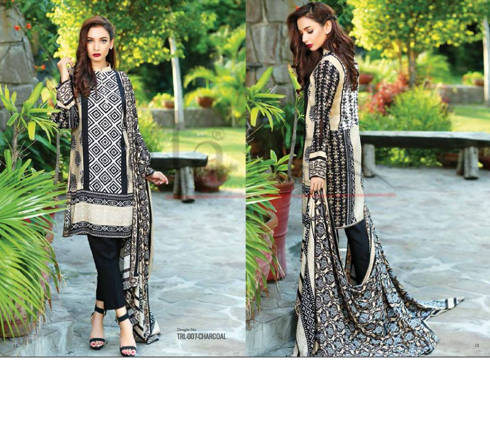Lala Winter Embroidered Cotton-Linen Dresses 2015-2016 (21)