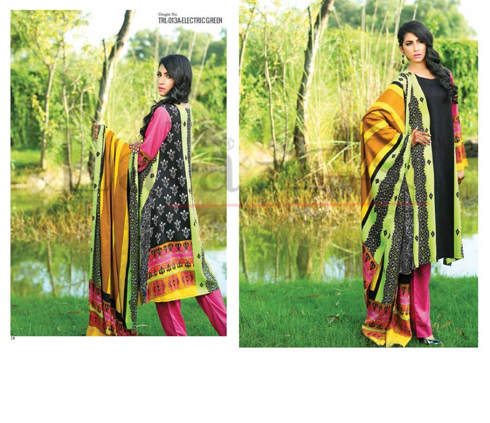 Lala Winter Embroidered Cotton-Linen Dresses 2015-2016 (23)
