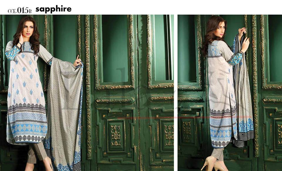 Lala Winter Embroidered Cotton-Linen Dresses 2015-2016 (25)