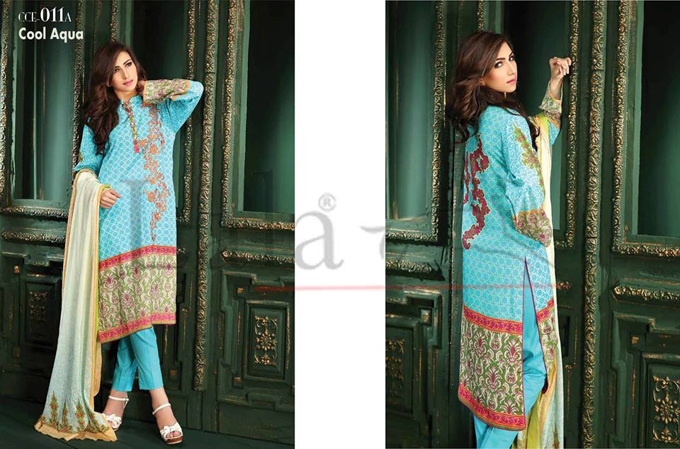 Lala Winter Embroidered Cotton-Linen Dresses 2015-2016 (26)