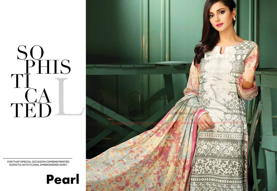 Lala Winter Embroidered Cotton-Linen Dresses 2015-2016 (27)
