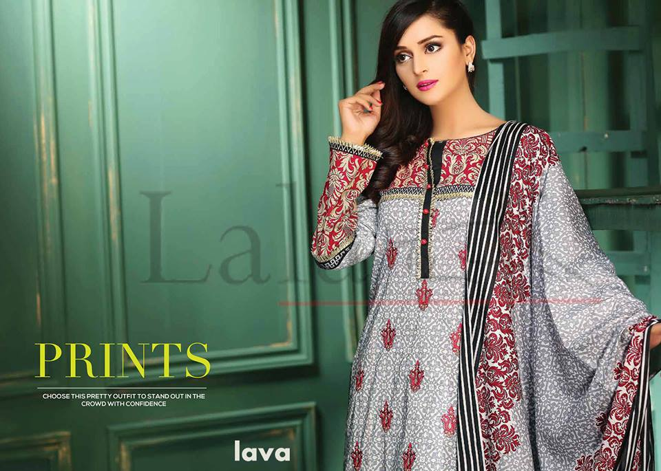 Lala Winter Embroidered Cotton-Linen Dresses 2015-2016 (3)
