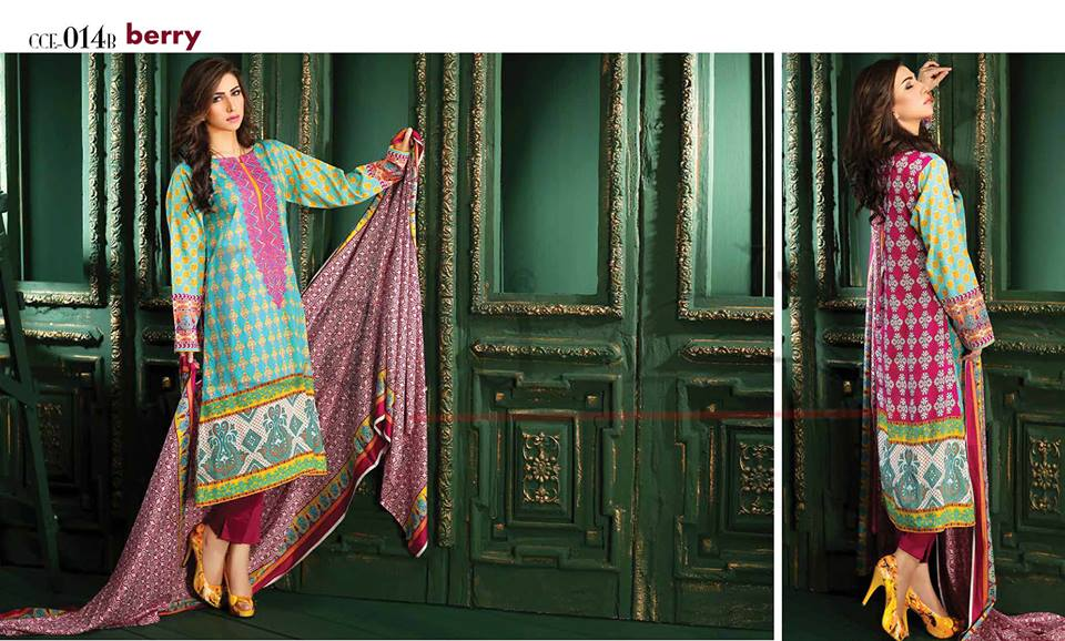 Lala Winter Embroidered Cotton-Linen Dresses 2015-2016 (4)