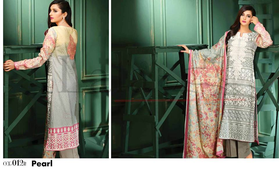 Lala Winter Embroidered Cotton-Linen Dresses 2015-2016 (5)