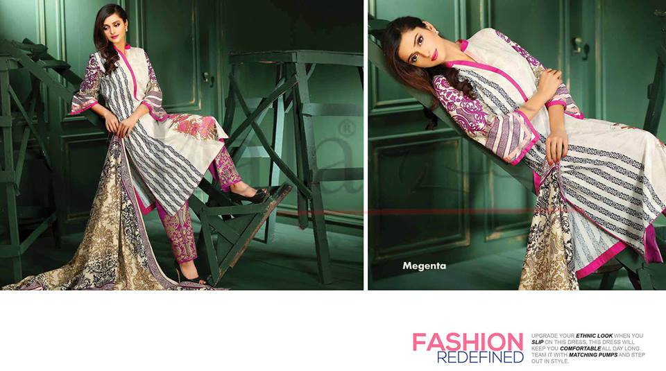 Lala Winter Embroidered Cotton-Linen Dresses 2015-2016 (6)