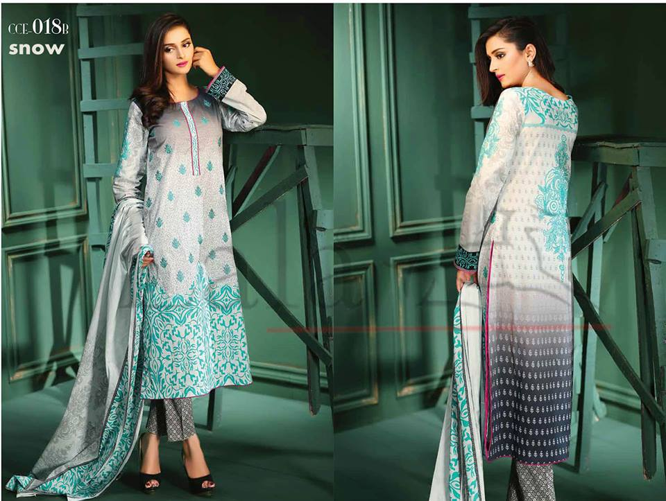 Lala Winter Embroidered Cotton-Linen Dresses 2015-2016 (7)
