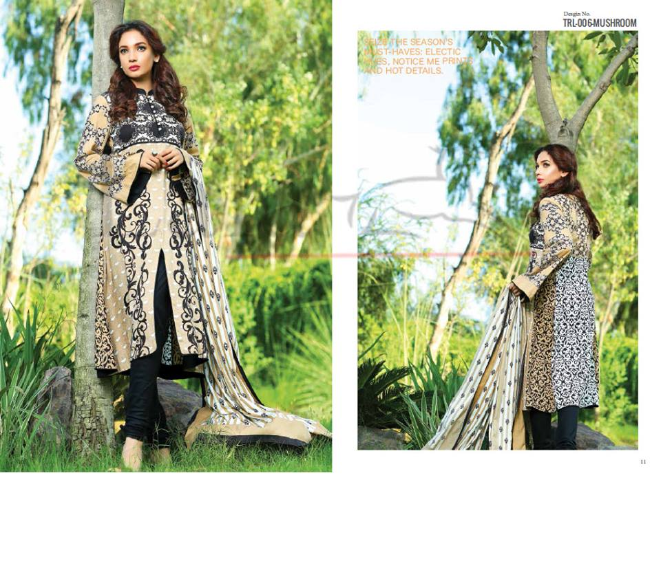 Lala Winter Embroidered Cotton-Linen Dresses 2015-2016 (8)