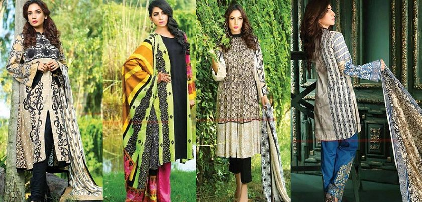 Lala Winter Embroidered Cotton-Linen Dresses 2015-2016