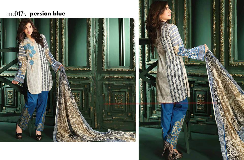 Lala Winter Embroidered Cotton-Linen Dresses 2015-2016 (9)