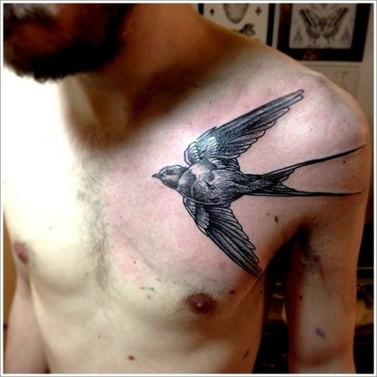 Latest Bird Tattoos Ideas for Men 2015-2016 (13)