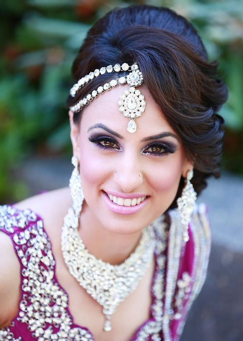 Best Indian Bridal Wedding Hairstyles 2016 2017
