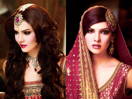 Bridal Hairstyles 2016: Latest Indian Bridal Wedding Hairstyles Trends 2018-2019