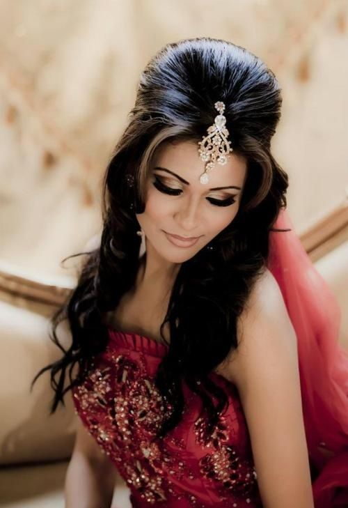 Latest Indian Bridal Wedding Hairstyles Trends 2018-2019 Collection