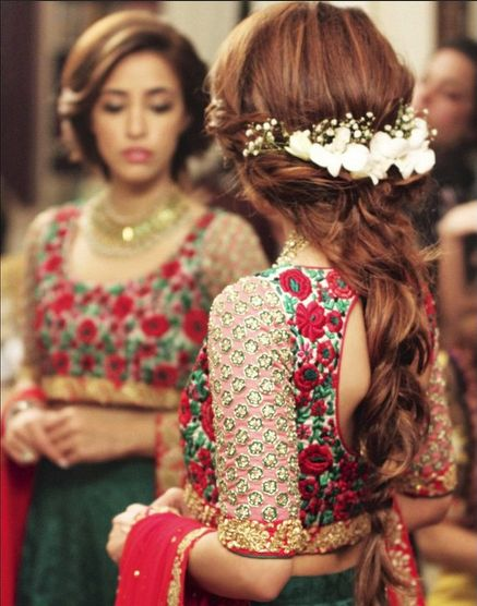 Latest Indian Bridal Wedding Hairstyles Collection 2015-2016 (20)