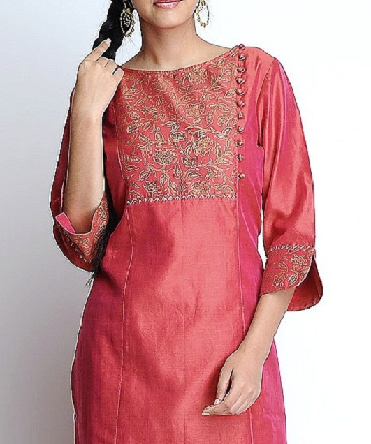 Latest Kurti Tunics Neck-line Designs 2015-2016 (4)