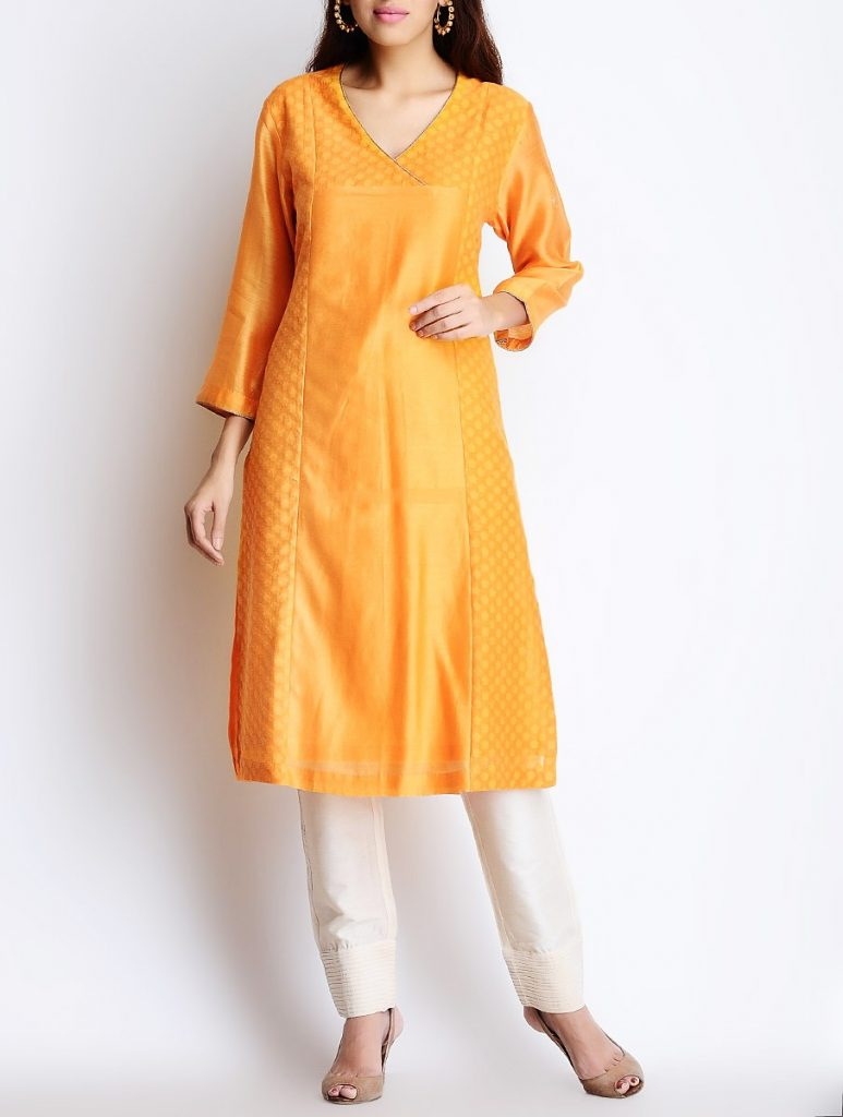 Latest Winter Shirts & Kurtis Designs Collection 2015-2016 (13)