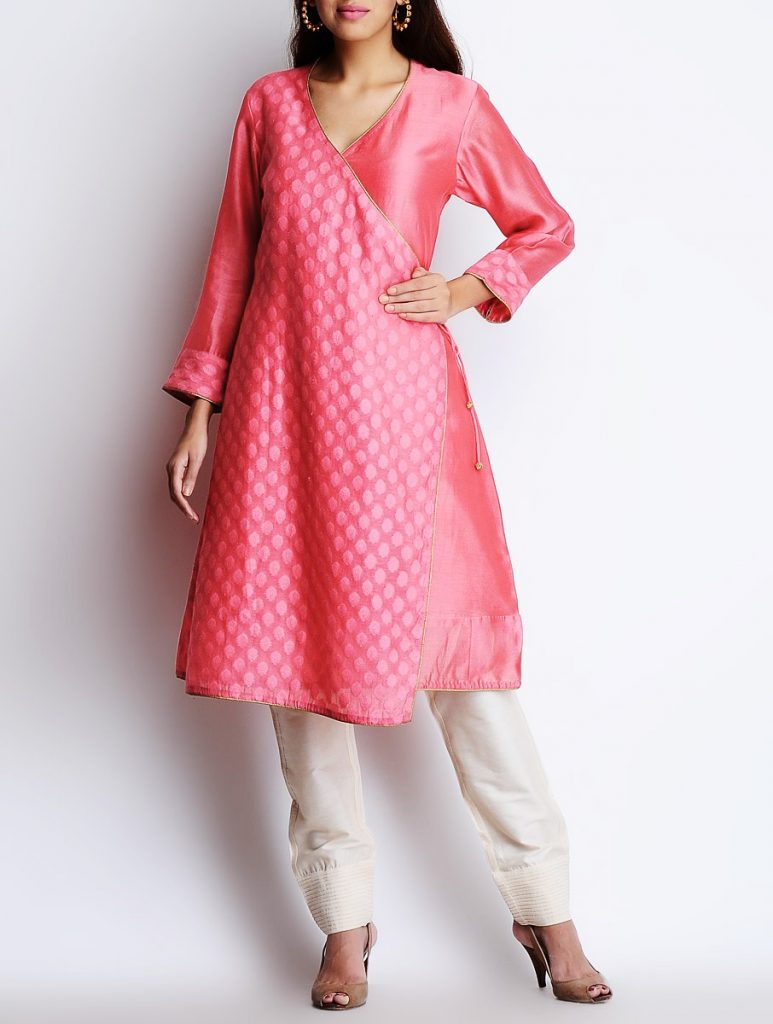 Latest Winter Shirts & Kurtis Designs Collection 2015-2016 (14)