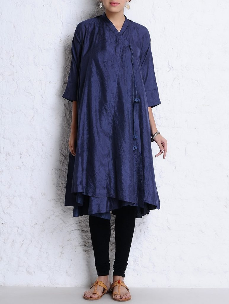 Latest Winter Shirts & Kurtis Designs Collection 2015-2016 (15)
