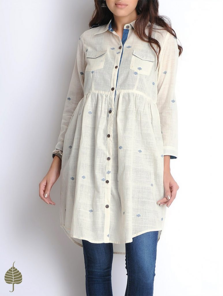 Latest Winter Shirts & Kurtis Designs Collection 2015-2016 (20)