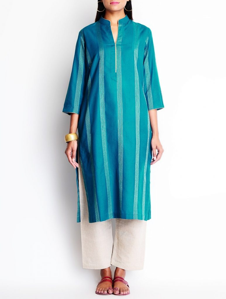 Latest Winter Shirts & Kurtis Designs Collection 2015-2016 (25)