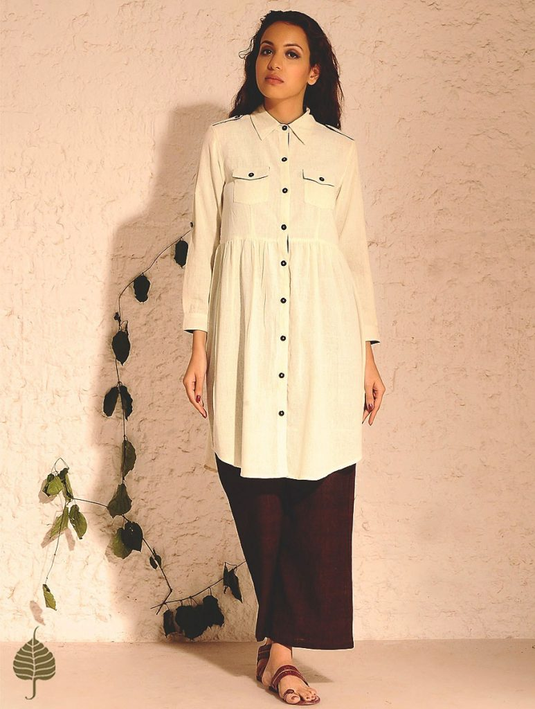 Latest Winter Shirts & Kurtis Designs Collection 2015-2016 (28)