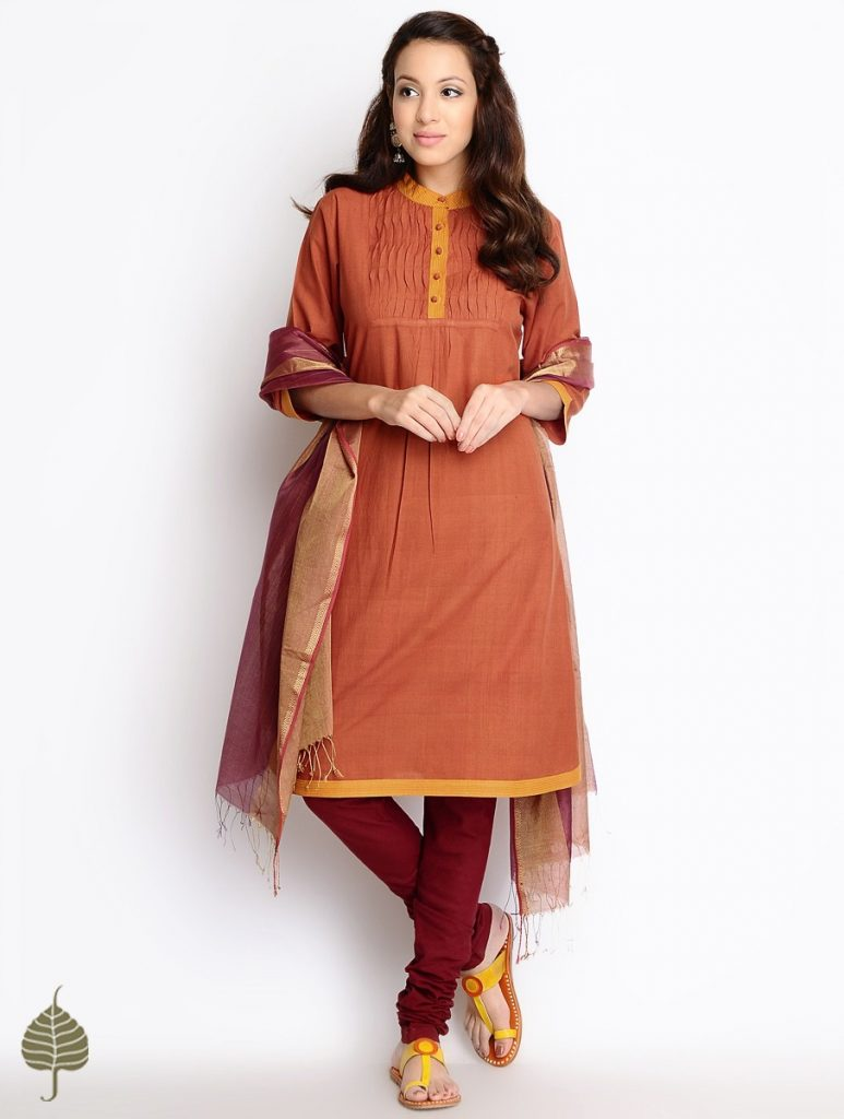 Latest Winter Shirts & Kurtis Designs Collection 2015-2016 (29)