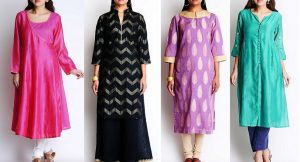 Latest Winter Shirts & Kurtis Designs Collection 2015-2016