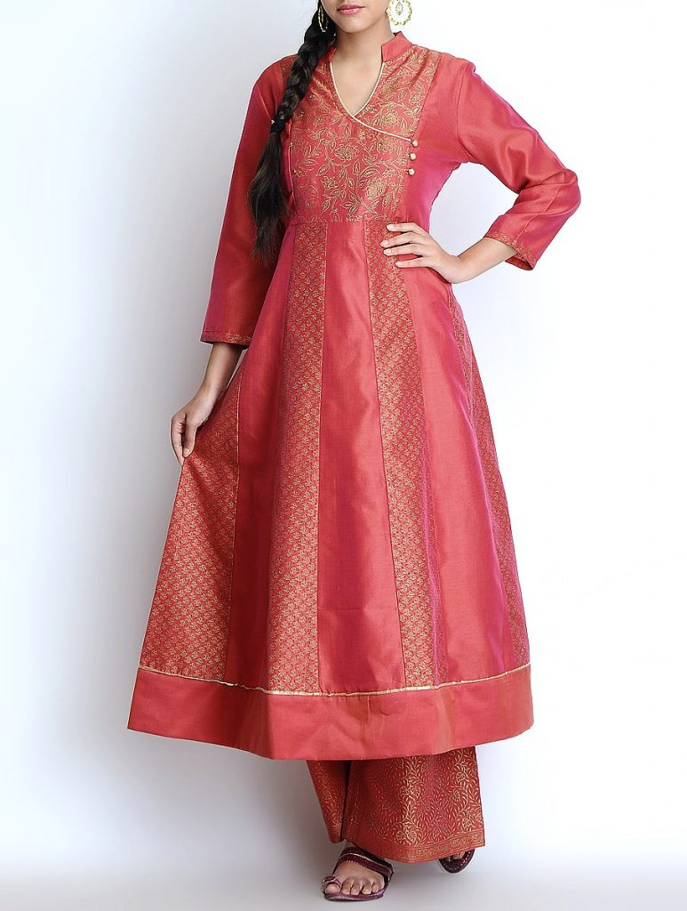 Latest Winter Shirts & Kurtis Designs Collection 2015-2016 (31)