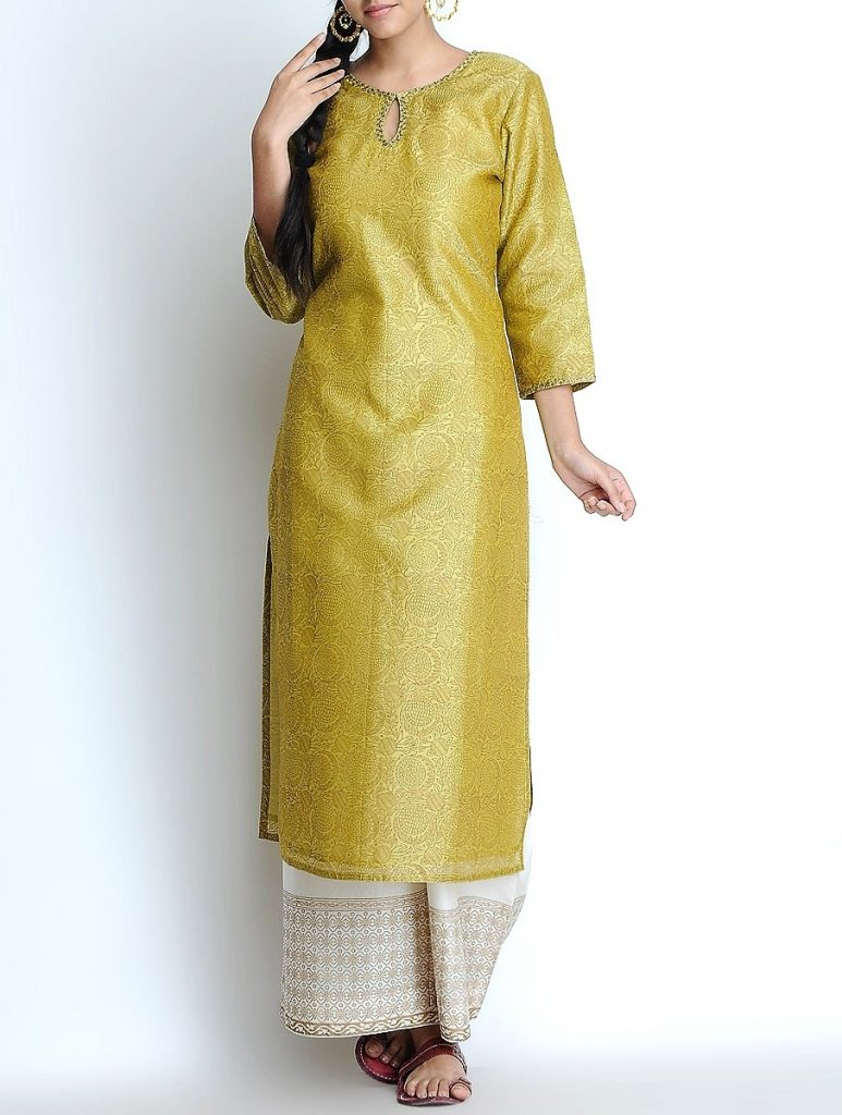 Latest Winter Shirts & Kurtis Designs Collection 2015-2016 (9)