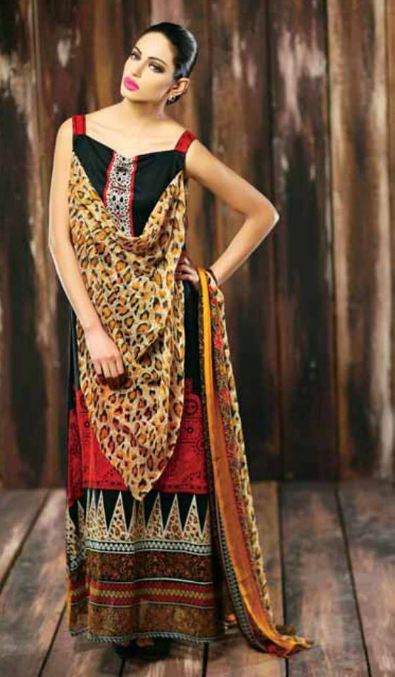 Libas Winter Crinkle Dresses Collection 2015-2016 by Shariq Textiles (1)