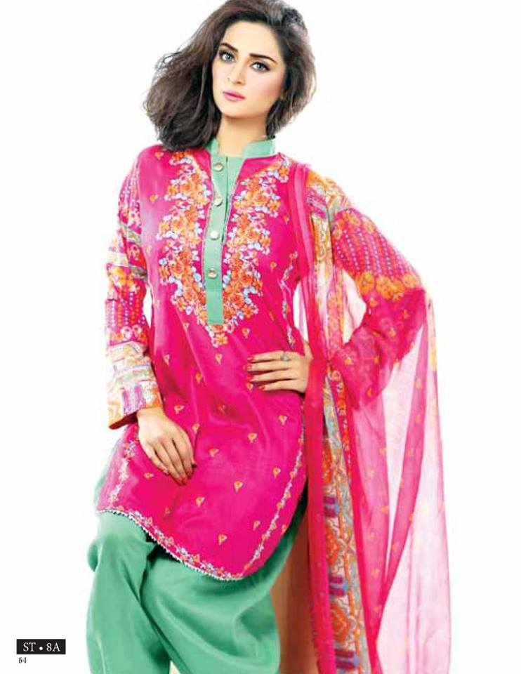 Libas Winter Crinkle Dresses Collection 2015-2016 by Shariq Textiles (11)