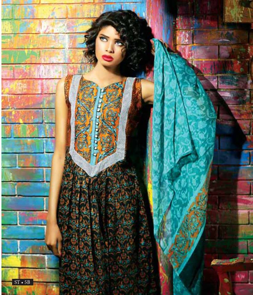 Libas Winter Crinkle Dresses Collection 2015-2016 by Shariq Textiles (12)