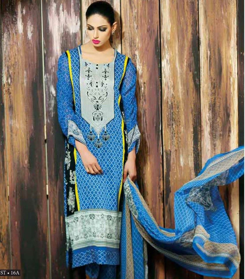 c552e72caa Libas Winter Crinkle Dresses Collection 2015-2016 by Shariq Textiles (15)