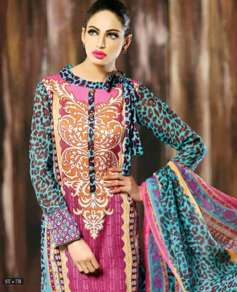 6df1bd90b3 Libas Winter Crinkle Dresses Collection 2015-2016 by Shariq Textiles (16)