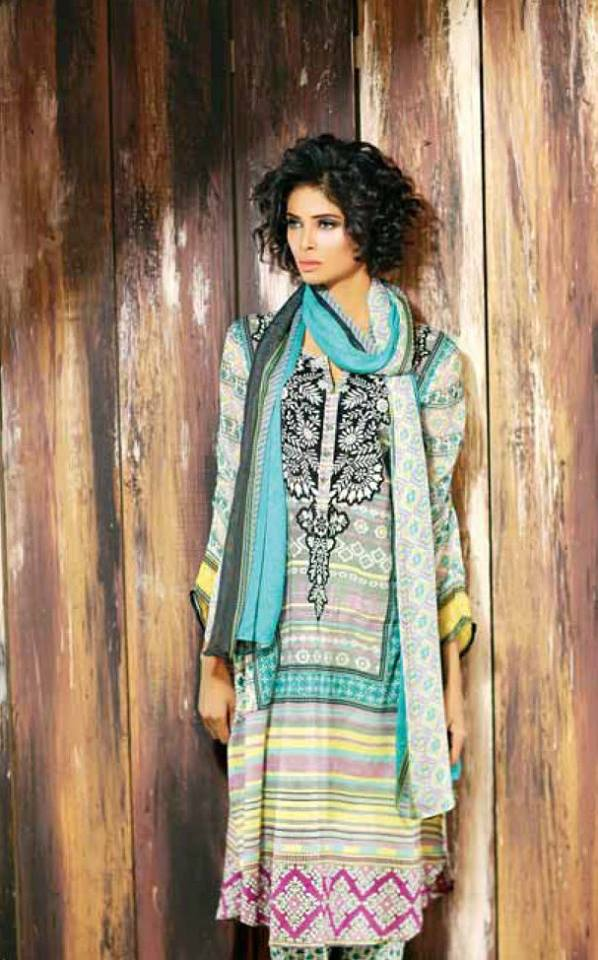 Libas Winter Crinkle Dresses Collection 2015-2016 by Shariq Textiles (17)