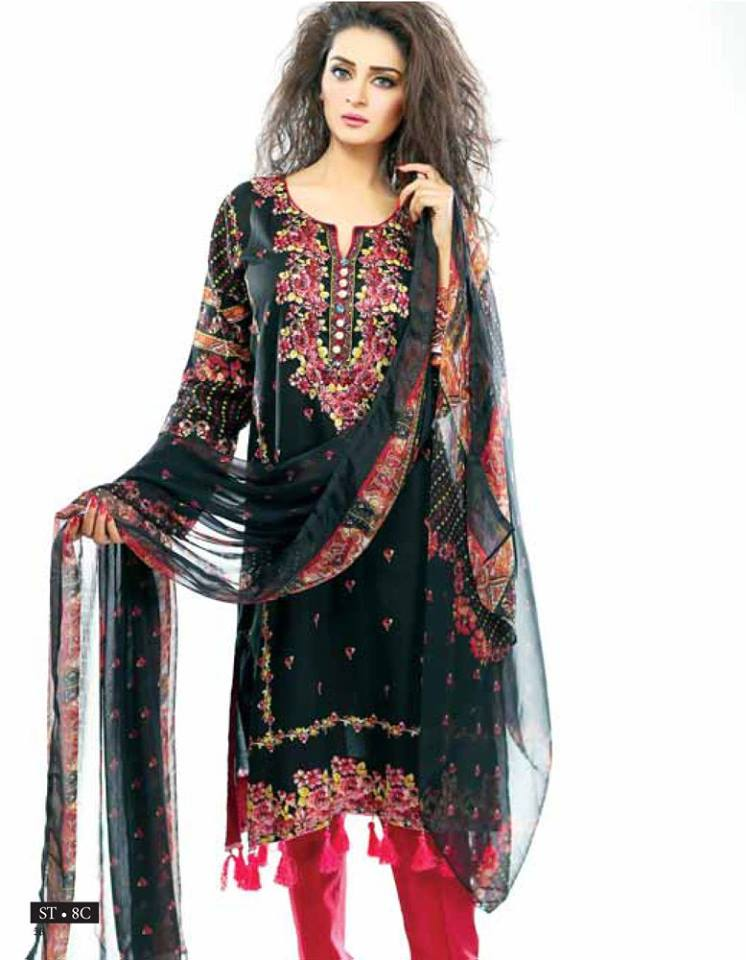 Libas Winter Crinkle Dresses Collection 2015-2016 by Shariq Textiles (18)