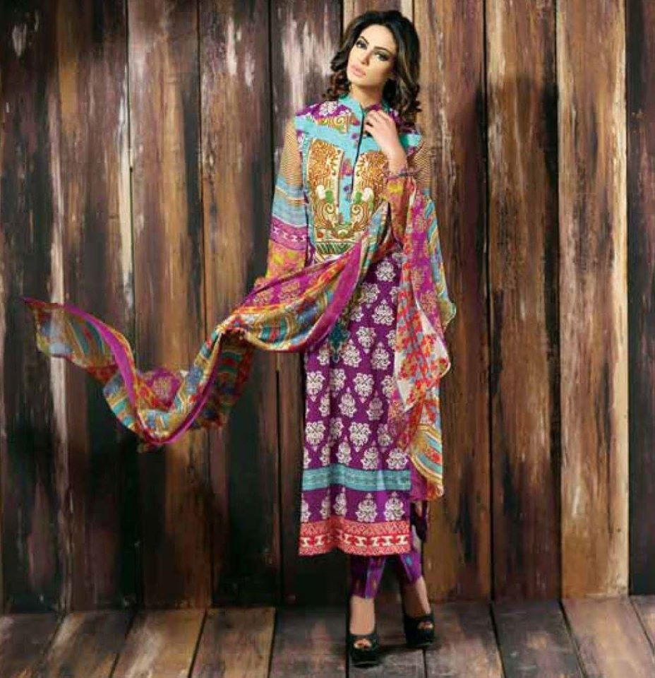 Libas Winter Crinkle Dresses Collection 2015-2016 by Shariq Textiles (2)